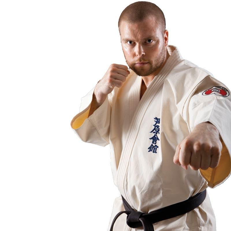 Вышивка на кимоно для карате